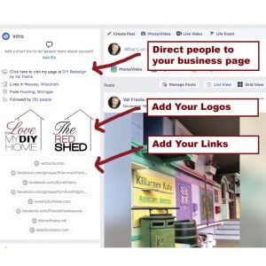 Use FB to build brand vid poster