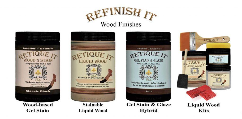 Stain, Liqu Wood, Stain, Glaze Kits